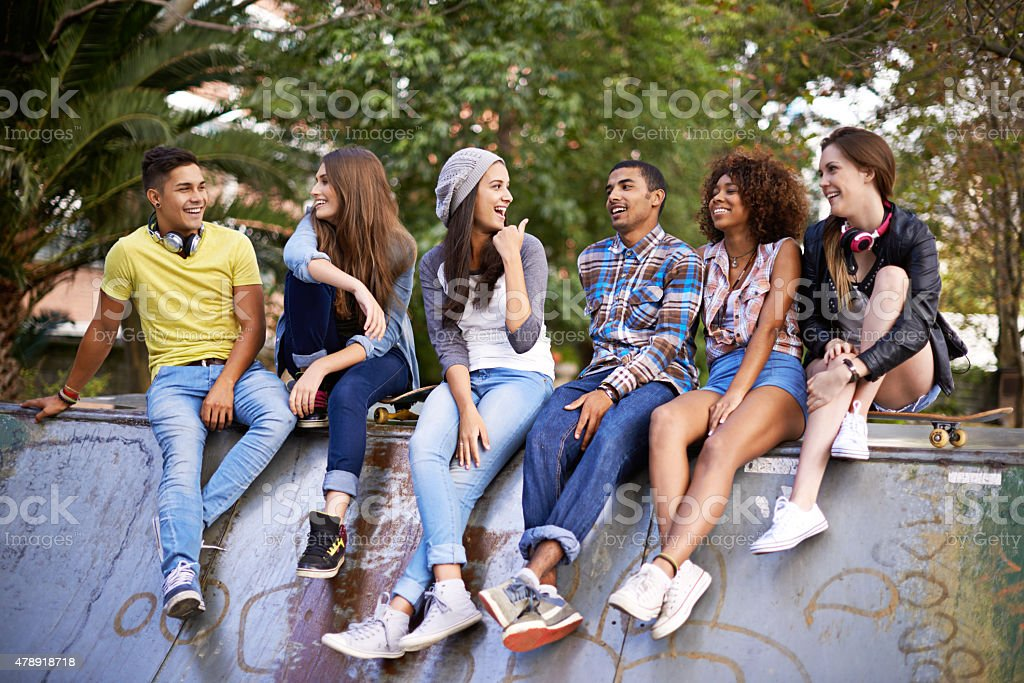 This Is Where The Cool People Hang Out Stock Photo - Download Image Now - iStock