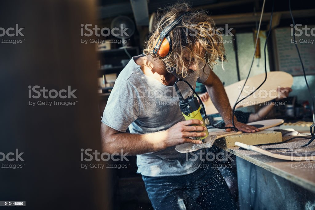 This is where the magic happens stock photo