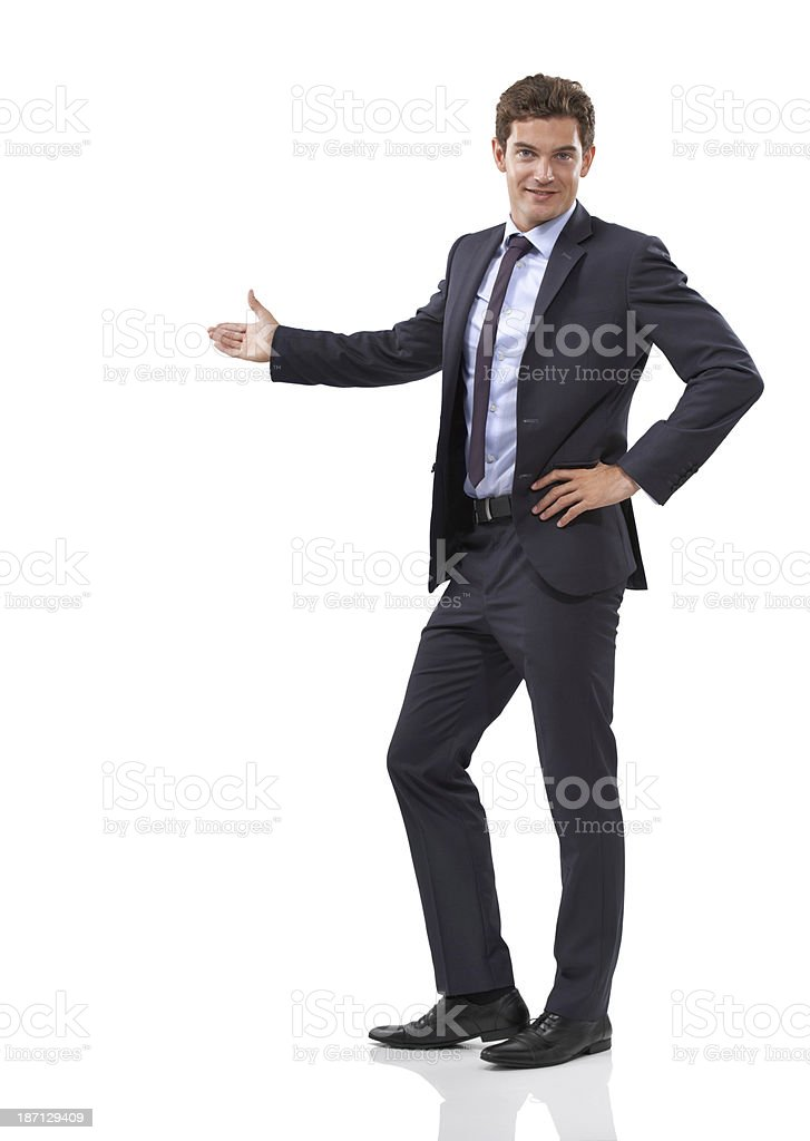 This is your space royalty-free stock photo