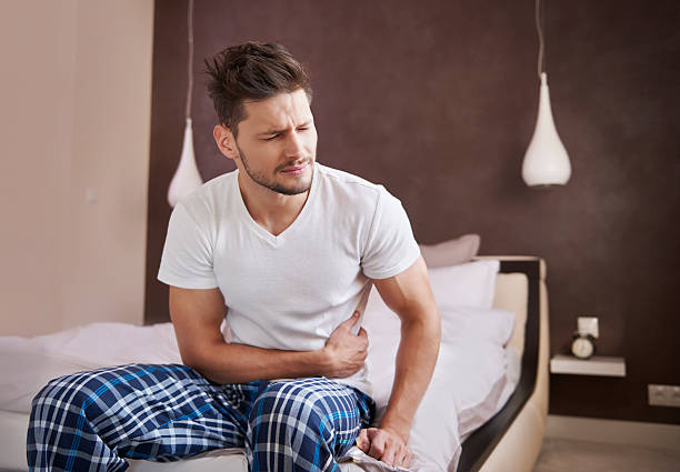 This kind of illness is very serious stock photo