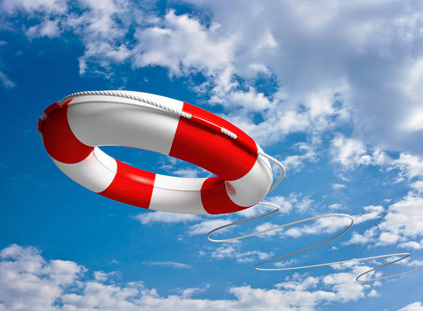 This Life Saver Will Rescue You stock photo