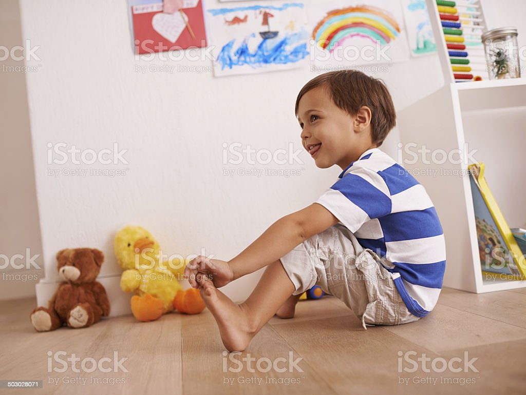 This little piggy went to the market... stock photo