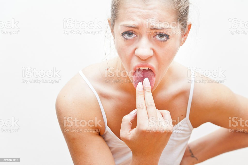 this makes me sick, it's disgusting stock photo