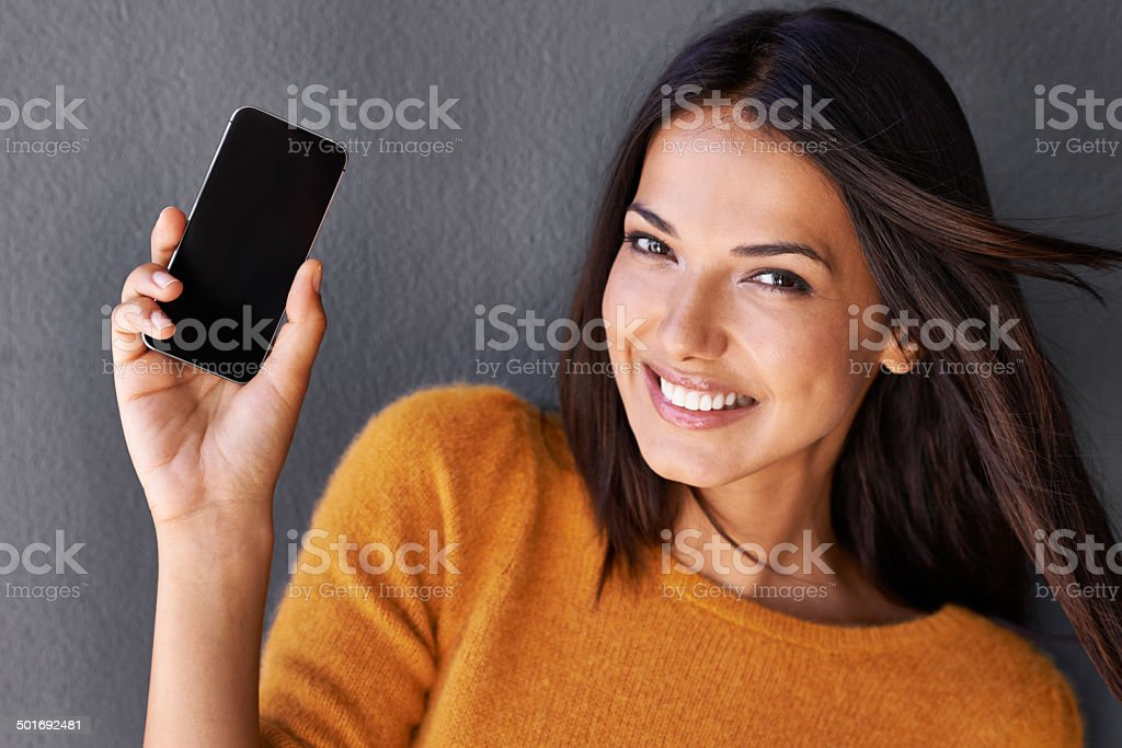 This makes staying connected easier stock photo
