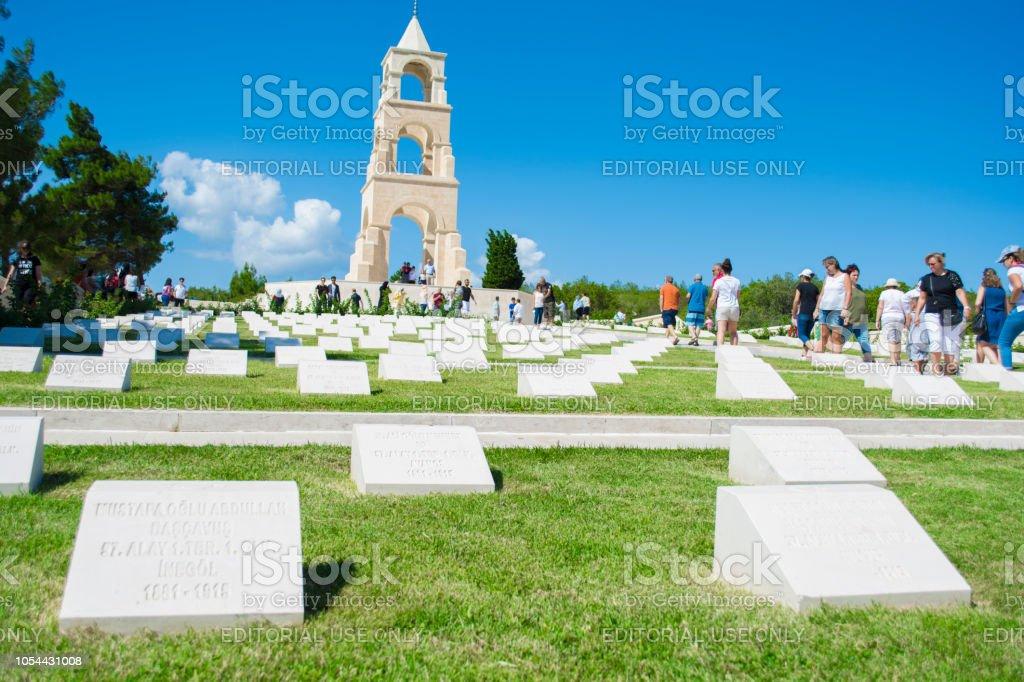 Ce martyre a été construit dans la mémoire du 57e régiment donnant des milliers de martyrs et blessé dans les guerres de Canakkale. - Photo