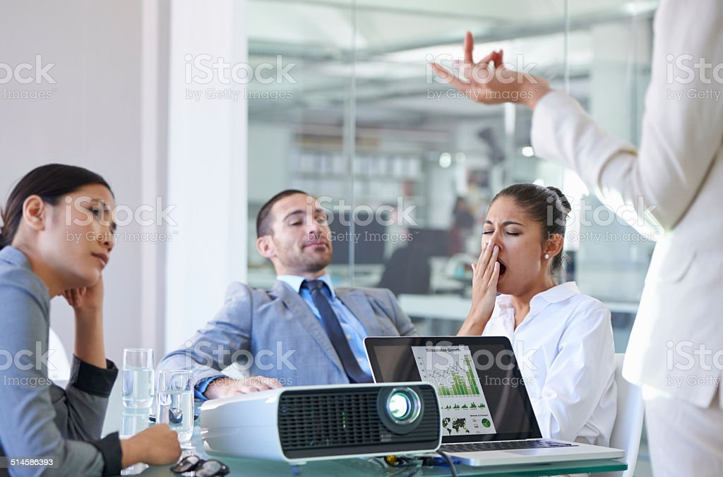 This meeting is taking forever stock photo