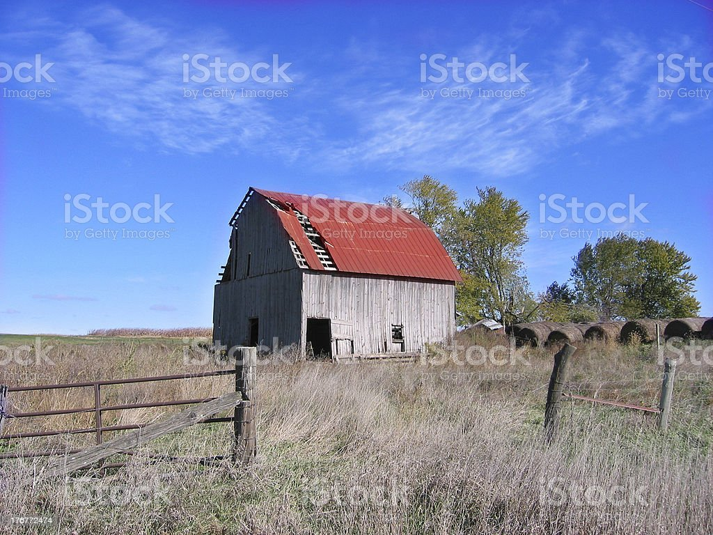 This Old Barn royalty-free stock photo