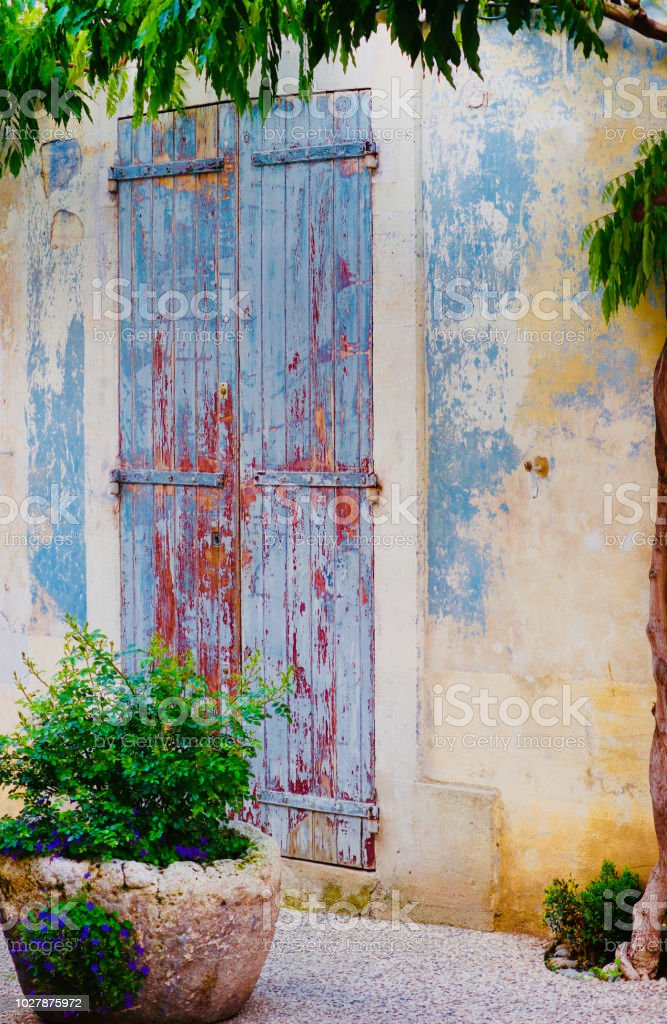 This old house in Provence. stock photo