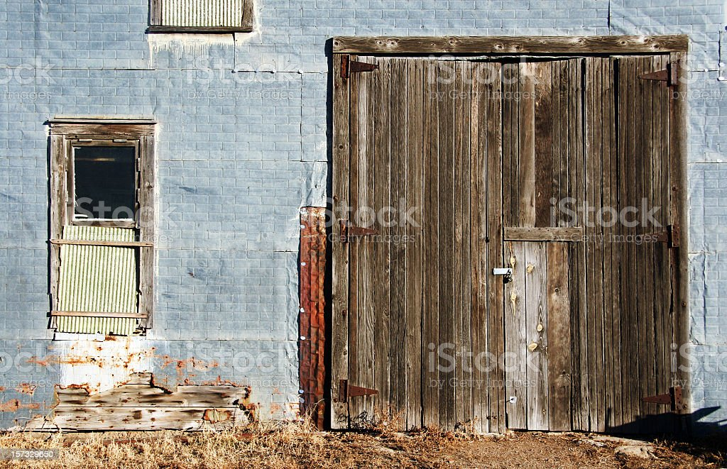 This Old Shed stock photo
