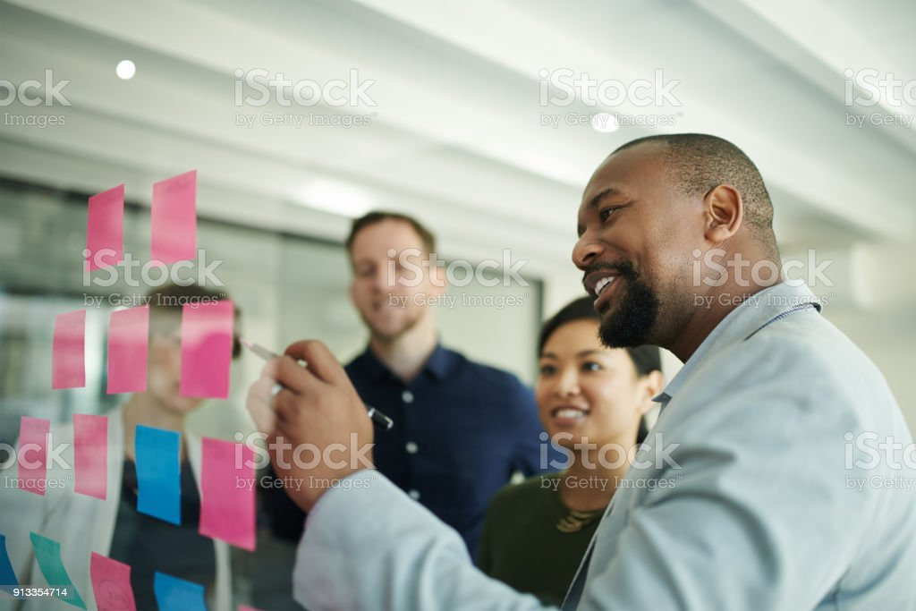 This one is a great idea stock photo