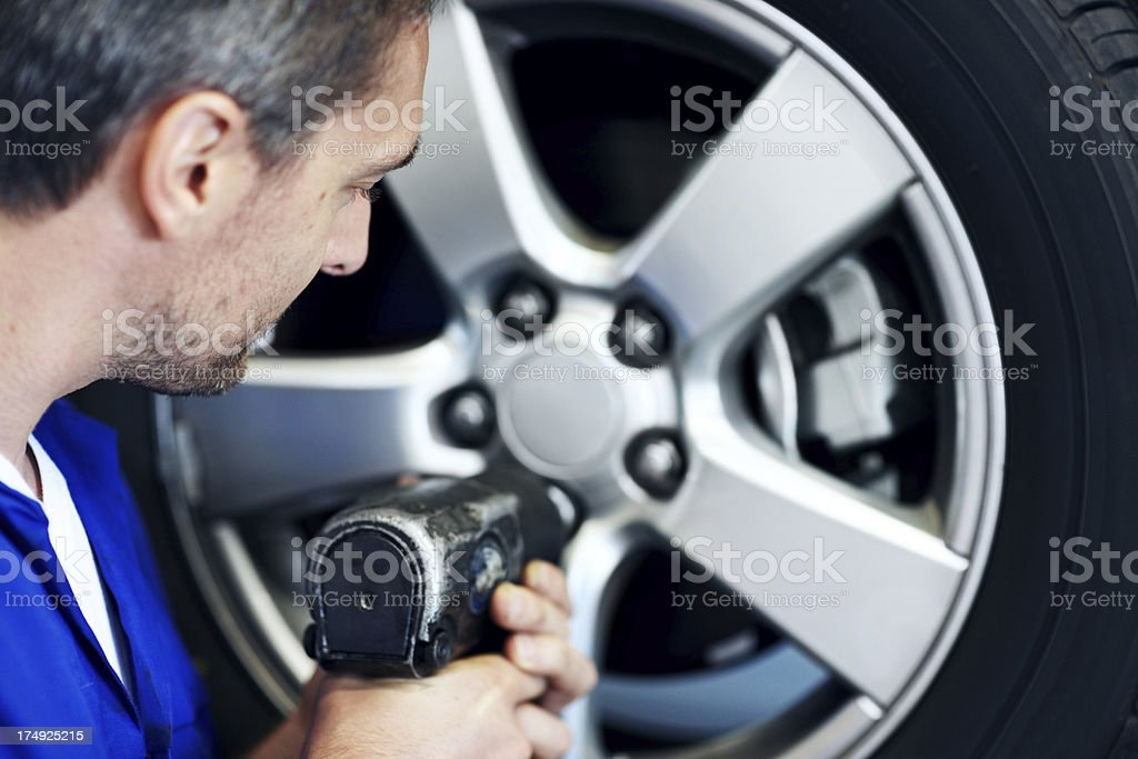 This one isn't budging! royalty-free stock photo