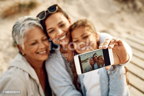 istock This one picture displays three generations of beauty 1166350074