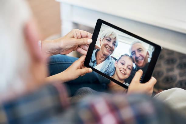 Dieses irgendjemandes für die digitale Familienalbum – Foto