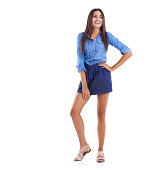 istock This outfit makes her feel confident 508940267