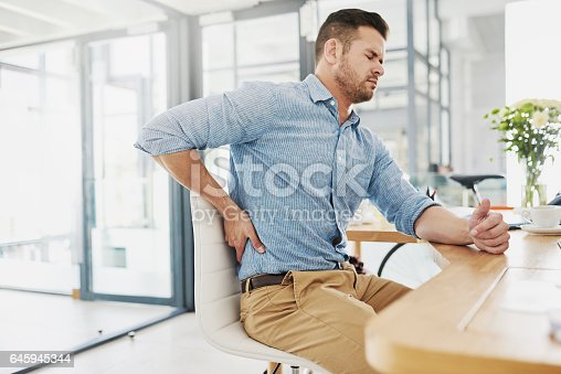 istock This pain is becoming far too unbearable 645945344