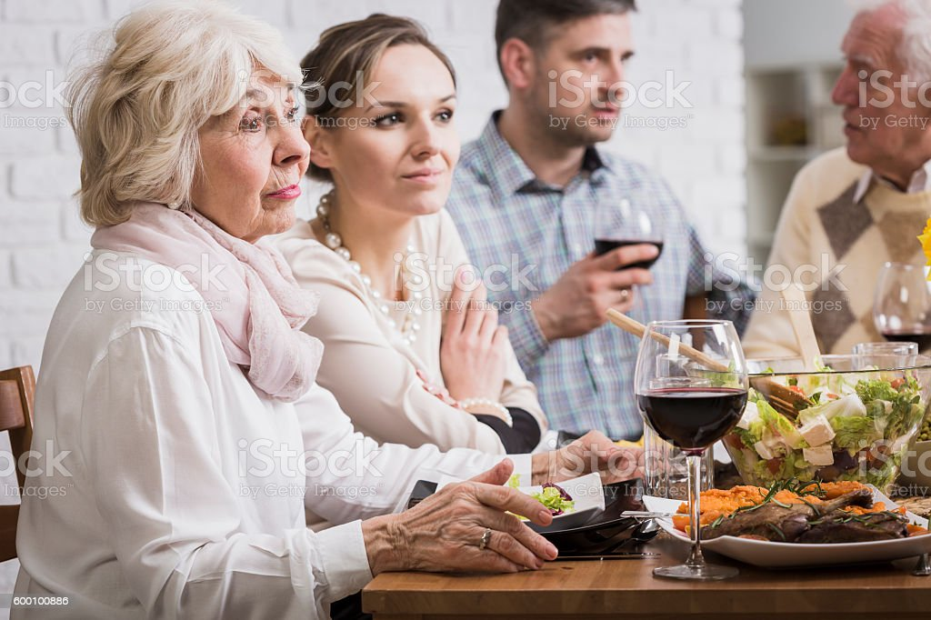 This party is boring me... stock photo