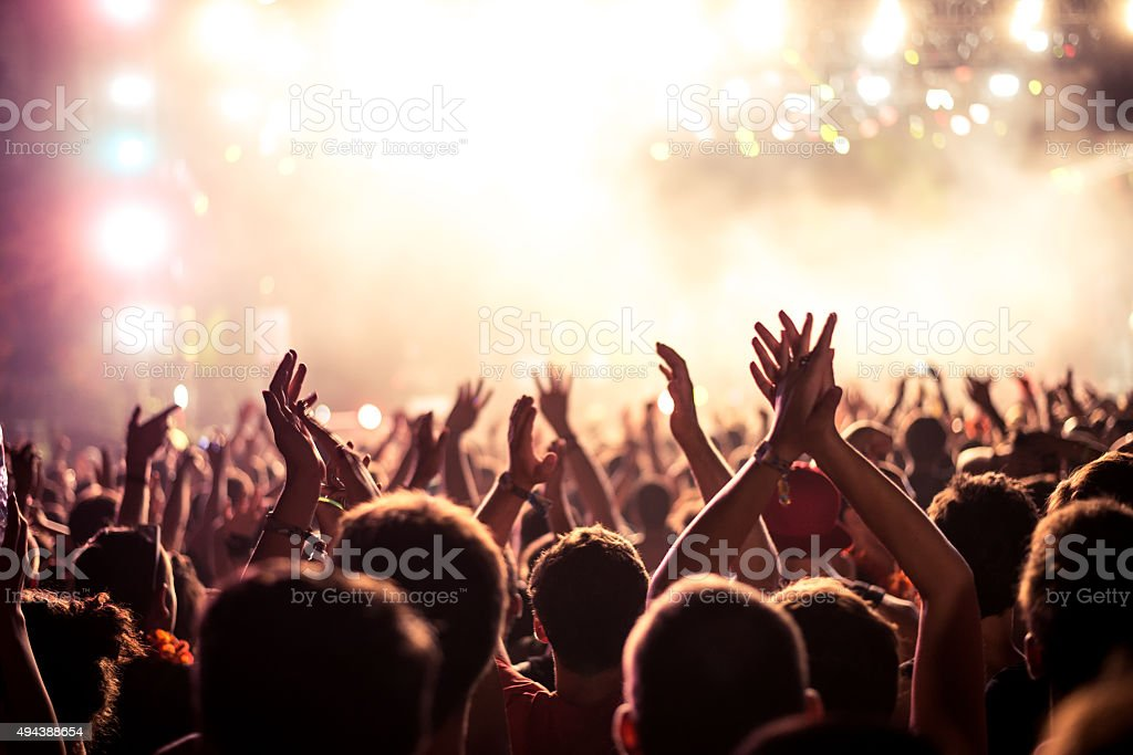 This party's on fire royalty-free stock photo