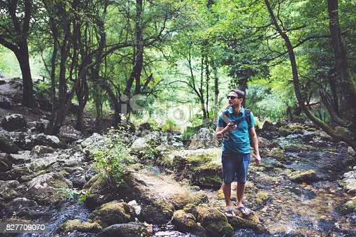 istock This place is so beautiful it almost doesn't look real. 827709070