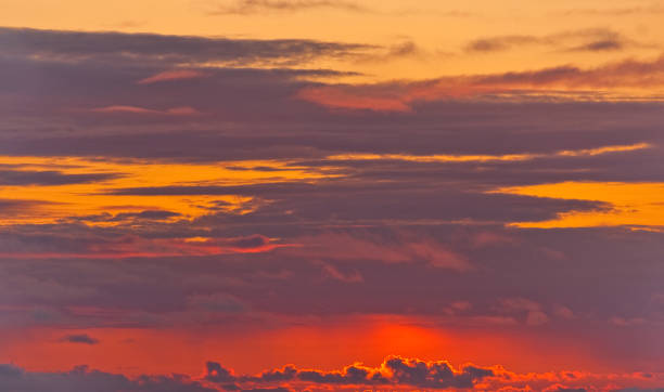 red sunset background - jeff goulden stock photos and pictures