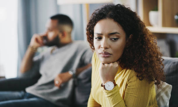 This relationship is not working for me anymore stock photo