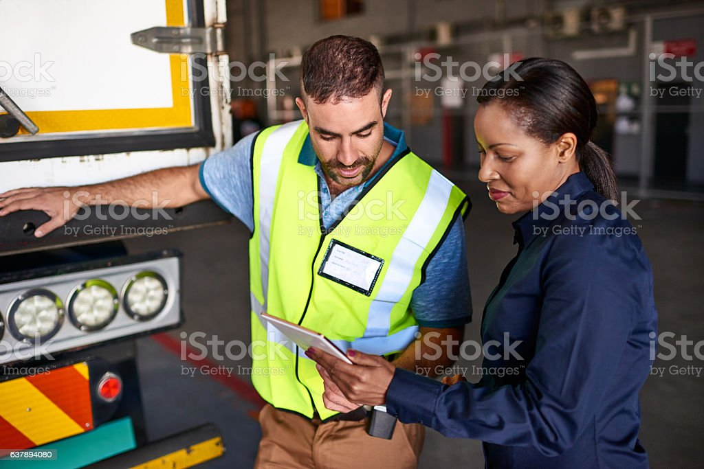 This shipment is going here stock photo