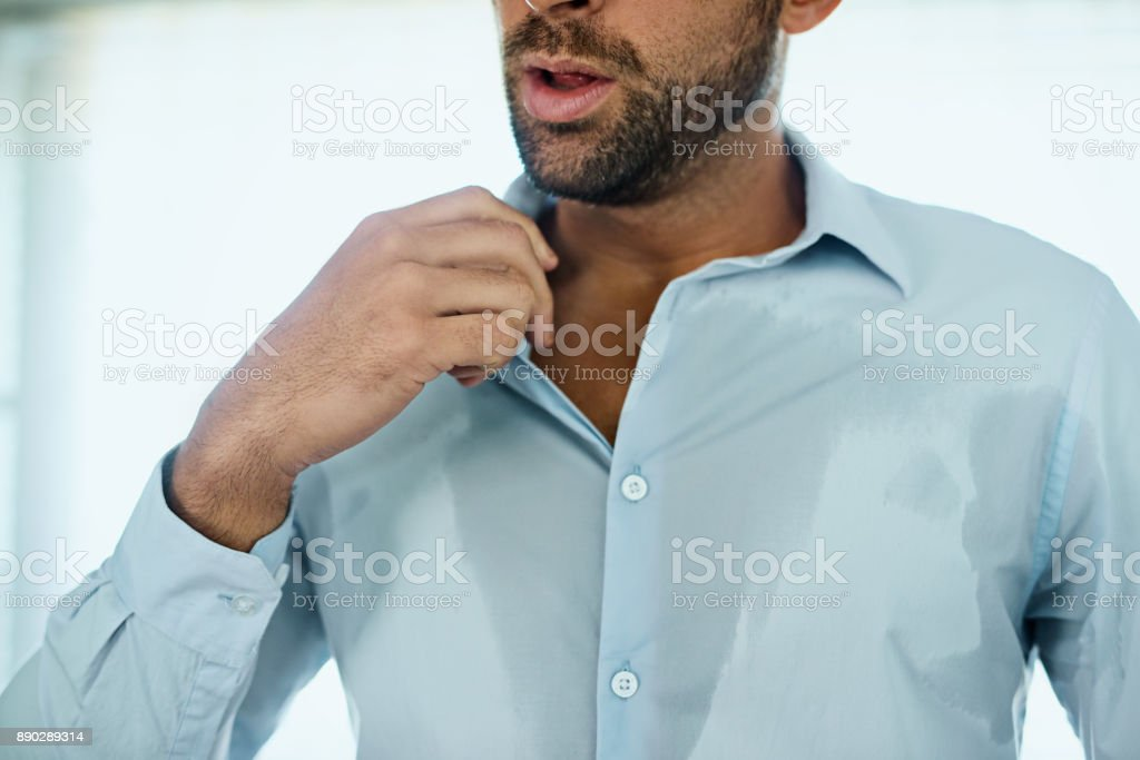 This shirt is too hot stock photo