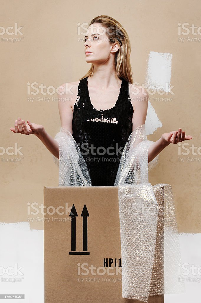 This side up stock photo