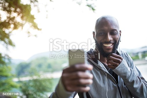 598157464 istock photo This song makes him smile 543361148