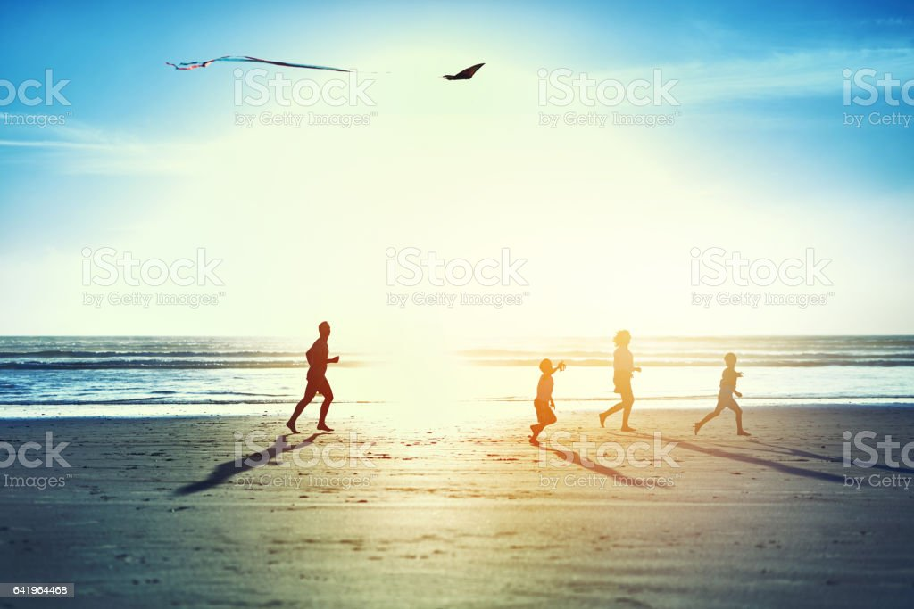 This summer, go whichever way the wind blows - foto stock