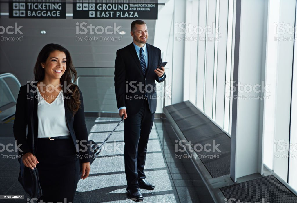 This team is going places royalty-free stock photo