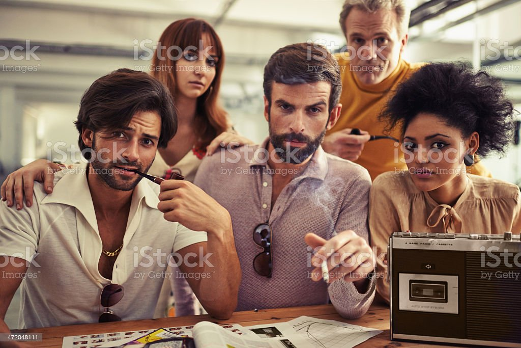This team is the best! stock photo