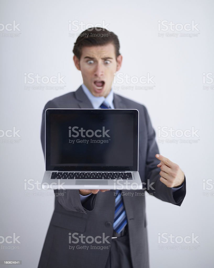This thing is amazing... royalty-free stock photo