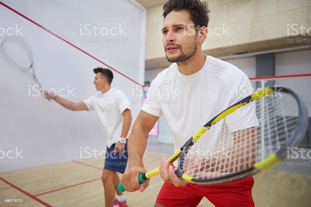 This time I cannot miss the ball stock photo