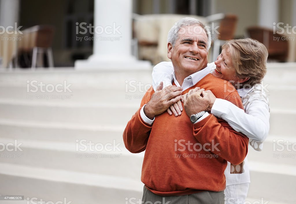 This time with you has been amazing! - Vacations royalty-free stock photo