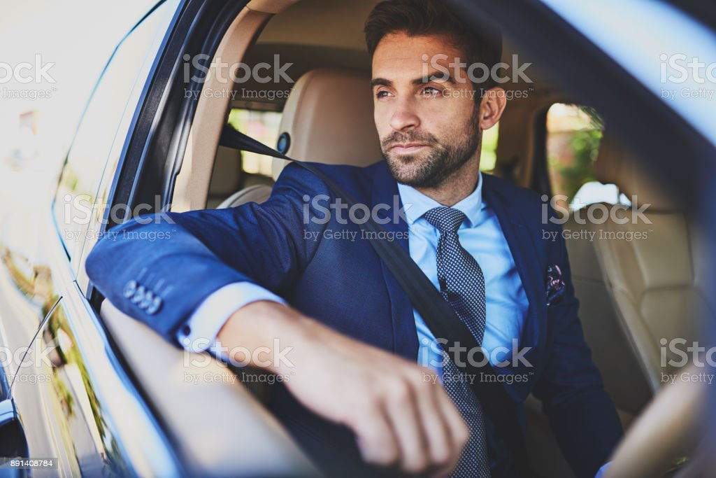 This traffic is always crazy stock photo