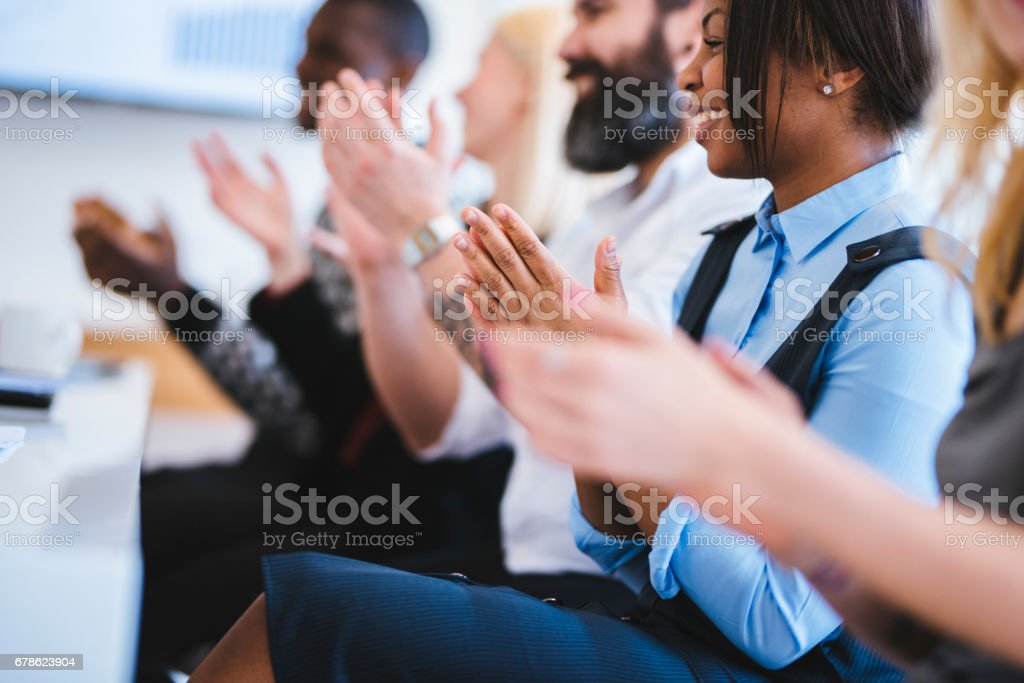 This was amazing presentation! stock photo