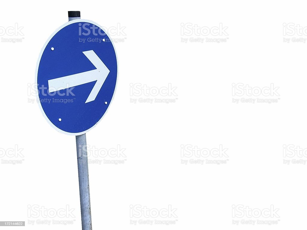 This way royalty-free stock photo