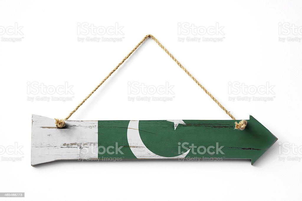 This Way To Pakistan royalty-free stock photo