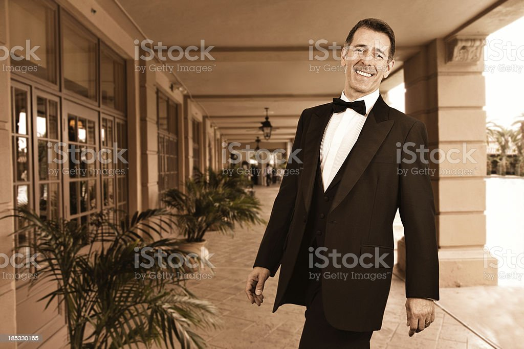 This way to the party royalty-free stock photo