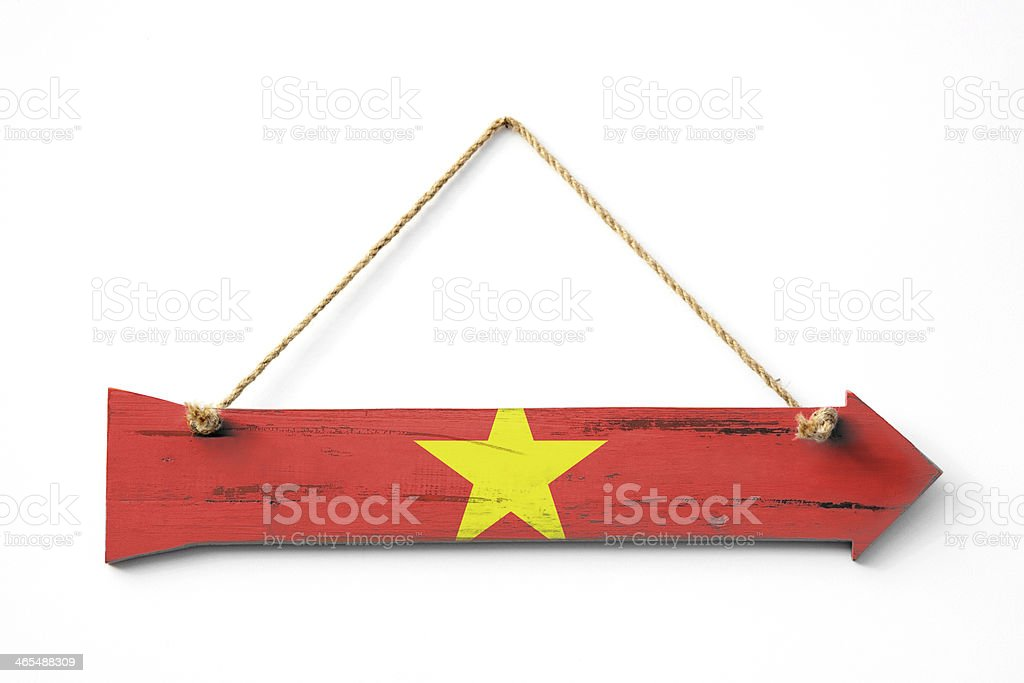 This way to Vietnam royalty-free stock photo