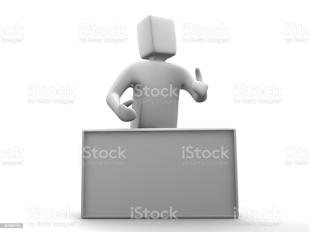 this week special is... customize the board royalty free stockfoto