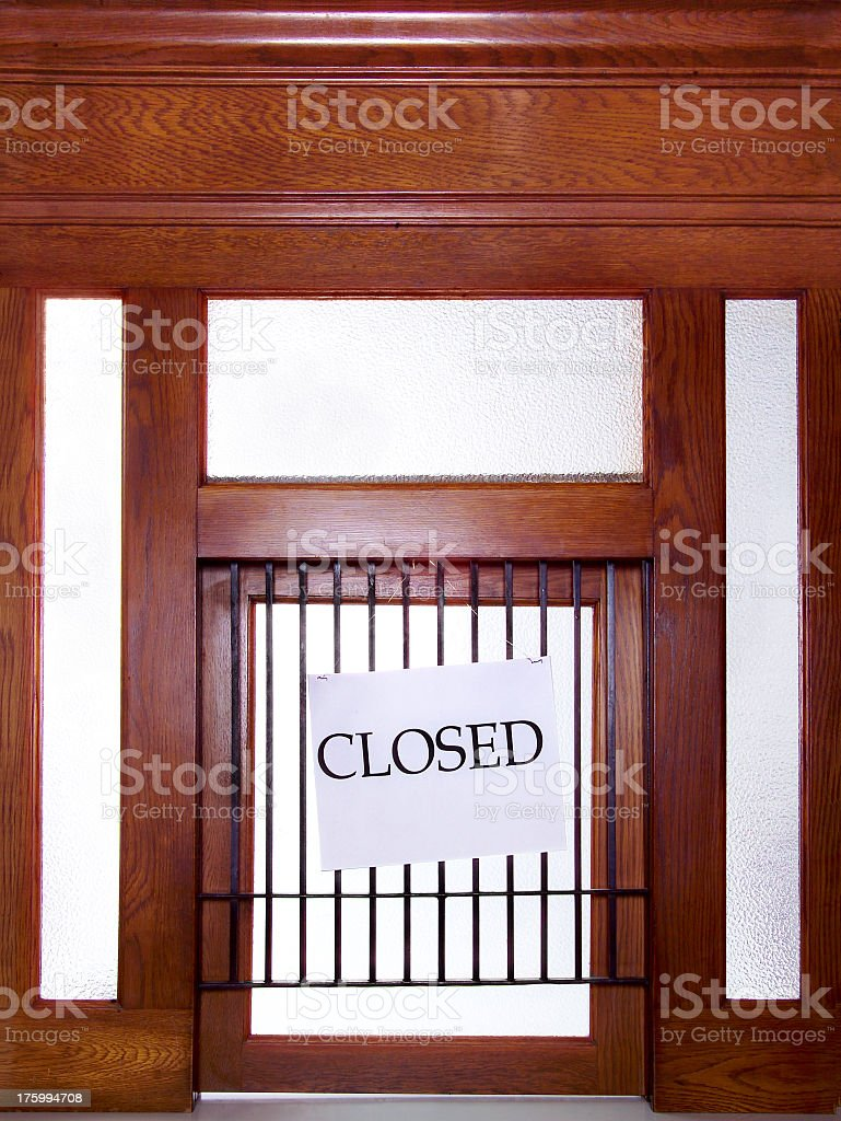 This window is closed royalty-free stock photo