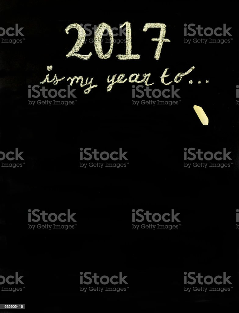 This years is my year to... stock photo
