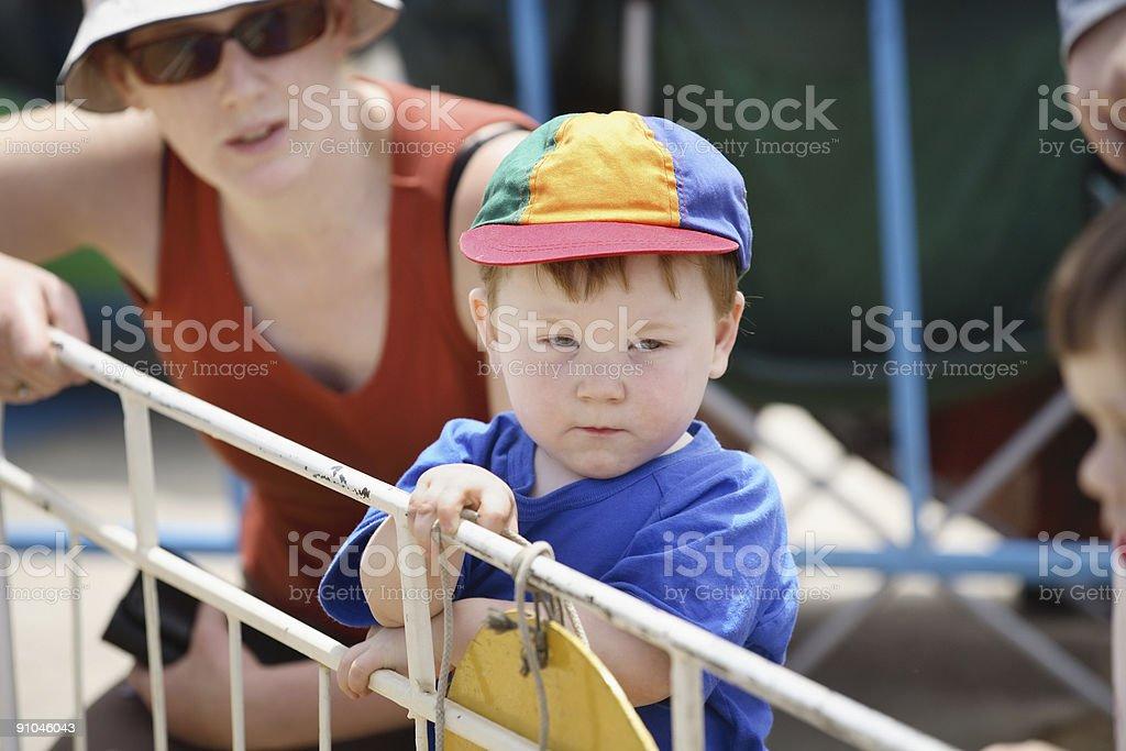 Thomas and Mum royalty-free stock photo