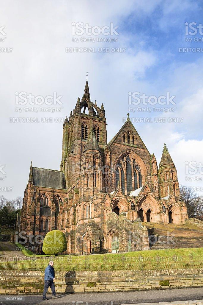 Thomas Coats Memorial Church, Paisley royalty-free stock photo