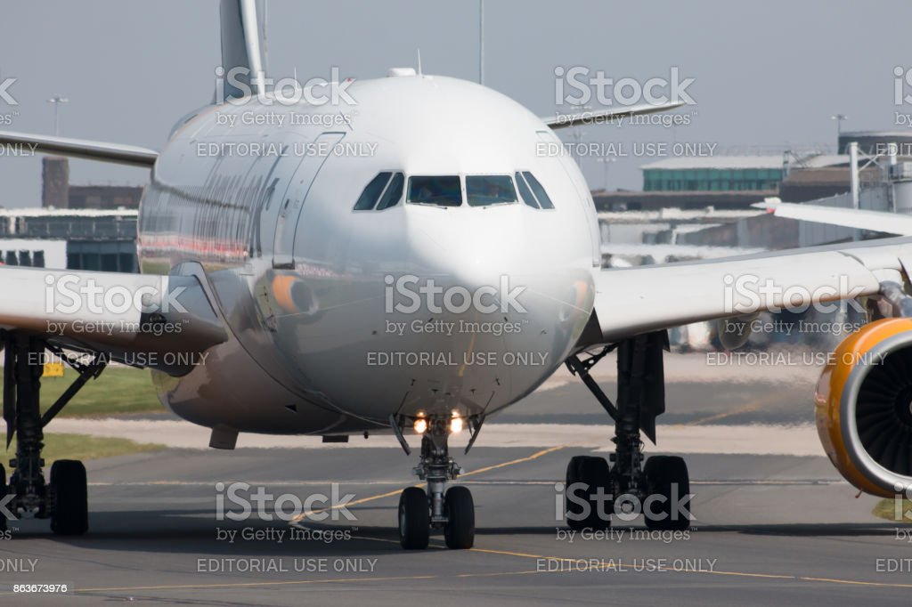 Thomas Cook Airlines A330 stock photo