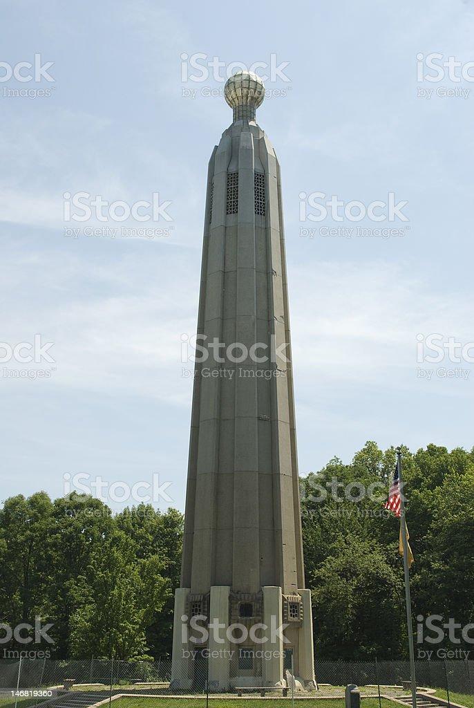 Thomas Edison Memorial Tower stock photo