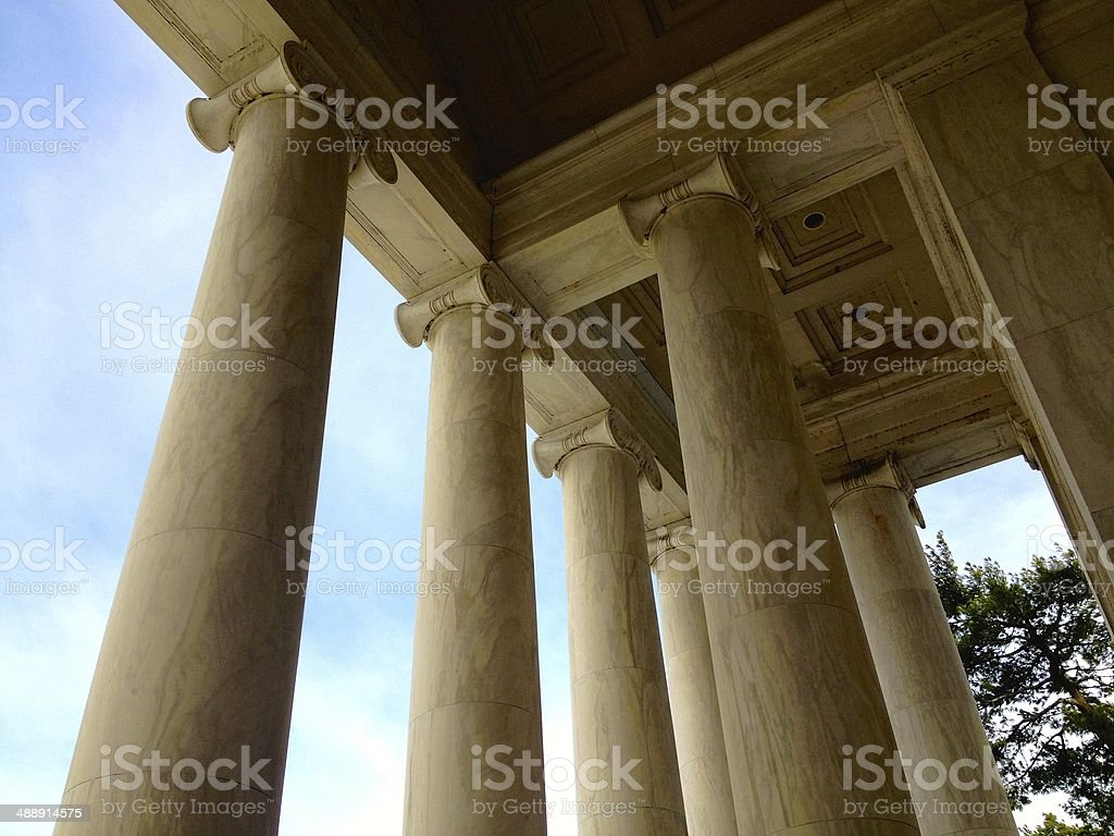 Thomas Jefferson Memorial in Washington D.C royalty-free stock photo