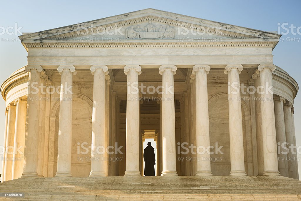 Thomas Jefferson Memorial royalty-free stock photo