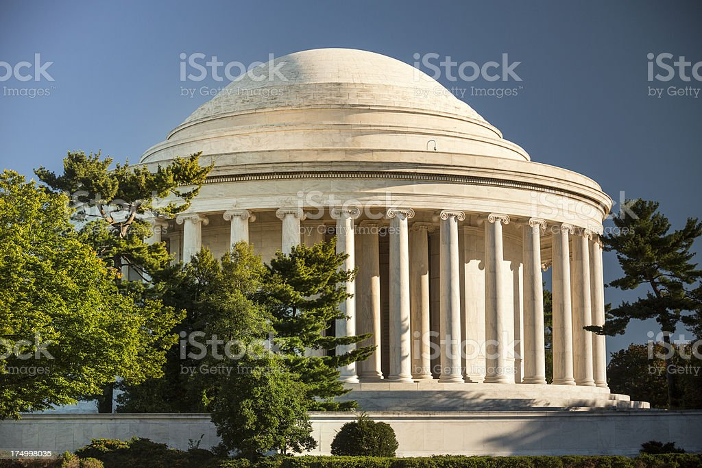 Thomas Jefferson Memorial royalty-free stock photo